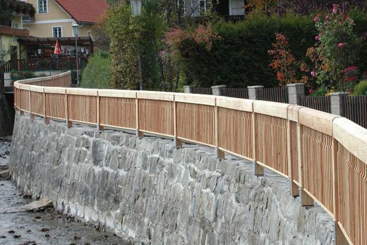 Holz Geländer 4