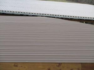 Dacheindeckung für Hallen oder Wirtschaftsgebäude
