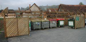 Müllsammelstelle 2