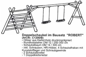 doppelschaukel-bausatz-robert-kiefer-druckimpraegniert-holz-heckele