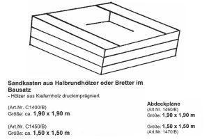 sandkasten-bausatz-halbrundholz-bretter-imprägniert-holz-heckele